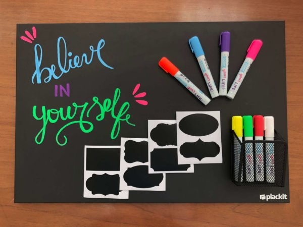 Plackit Large Set (Plackit Chalkboard Markers + Holder Markers)