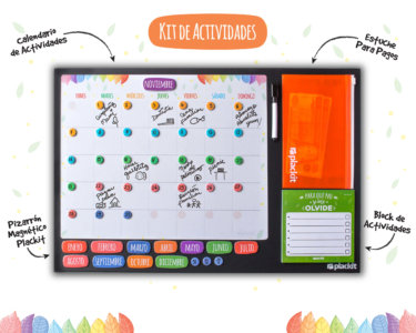 Kit Actividades Grande (Command Center) - Plackit