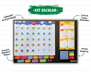 Kit Escolar Grande (Command Center) - Plackit