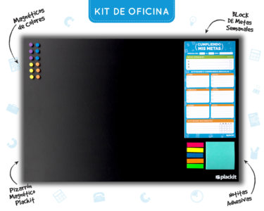 Kit de Oficina (Command Center) - Plackit